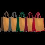 sac personnalisé cabas en toile de jute